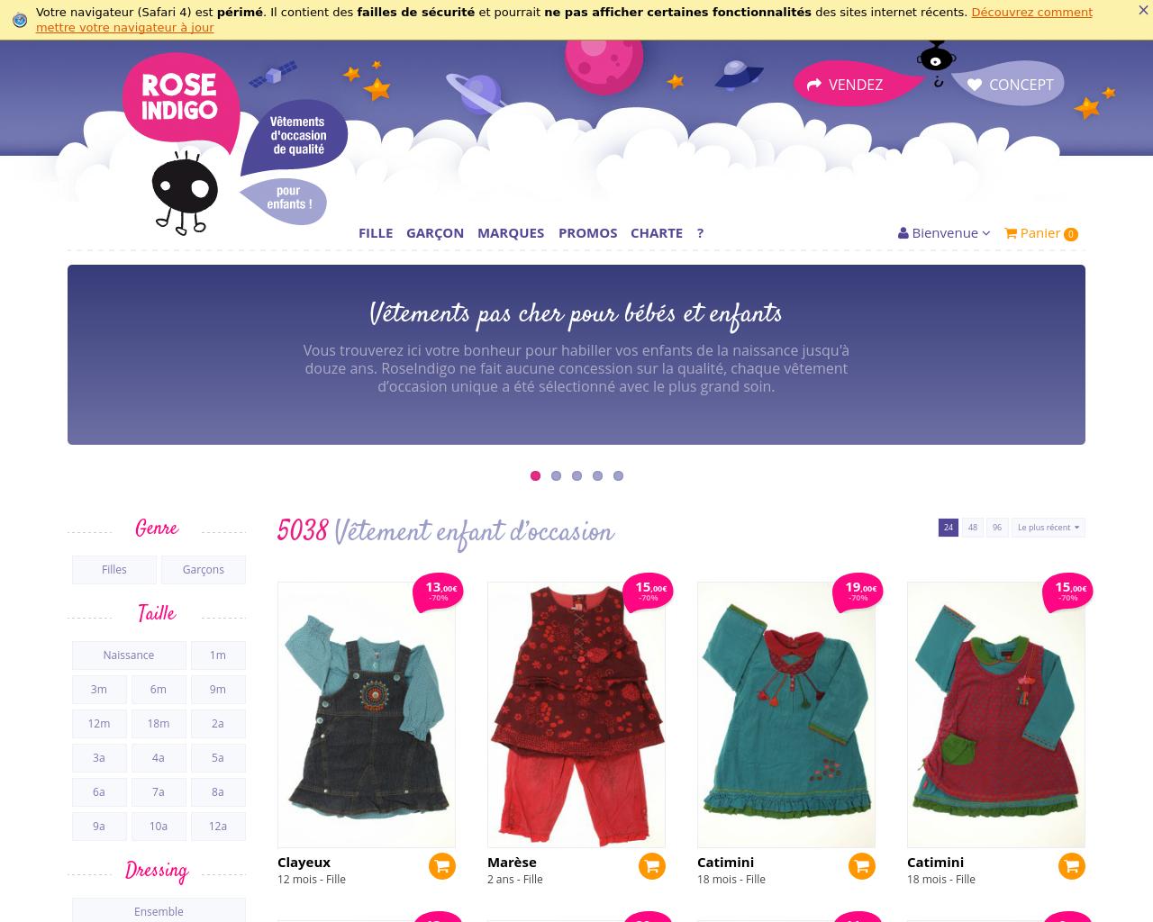 Vêtements d'occasion pour les enfants : Des achats malins et économiques