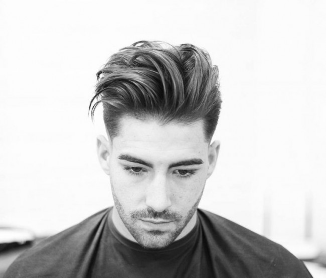 coiffure homme coupe cheveux longs desordonners - Coupe moderne homme - Coupe de cheveux homme