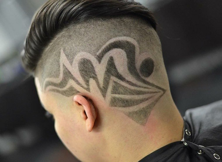 coupe homme idee tendance - Coupe moderne homme