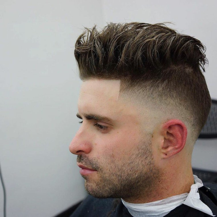 coupe homme tendance trendy idee - Coupe moderne homme - Coupe de cheveux homme