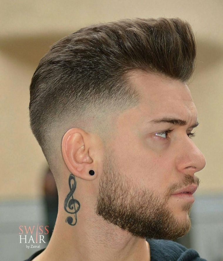 coupe tendance homme cheveux trendy - Coupe moderne homme - Coupe de cheveux homme