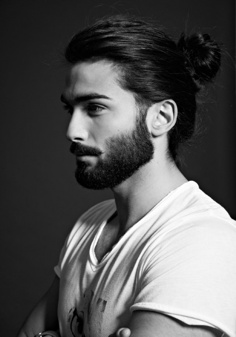 homme coiffure tendance 2016 chignon - Coupe moderne homme