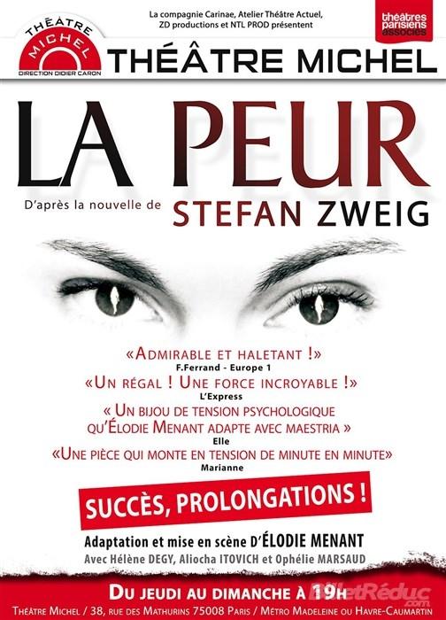 399e5c0b27c5337e0ebe449e92056bd7 - « La Peur » de Stefan Zweig au Théâtre Michel : une adaptation saisissante et réussie