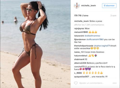 Michelle Lewin Fitness Instragam Fitnessgirl