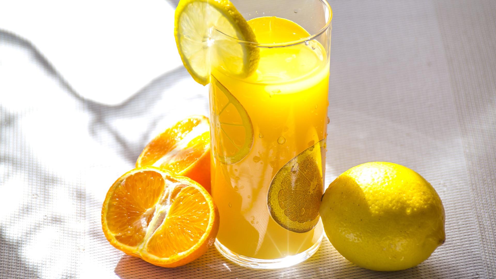 Le jus d'orange s'harmonise parfaitement avec vos plats