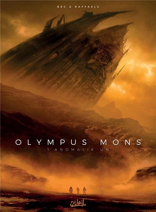 olympus - Notre selection BD du mois de mars