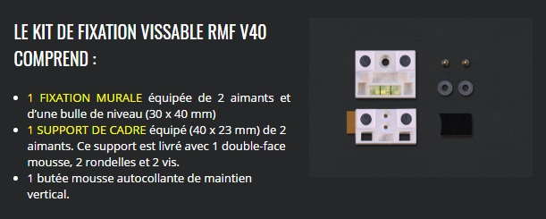 RMF V40 - Reverse Magnet, accrochages fastoches