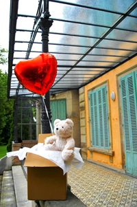 cadeau ourson ballon coeur - Le nouveau cadeau qui va remplacer le traditionnel bouquet de fleurs !