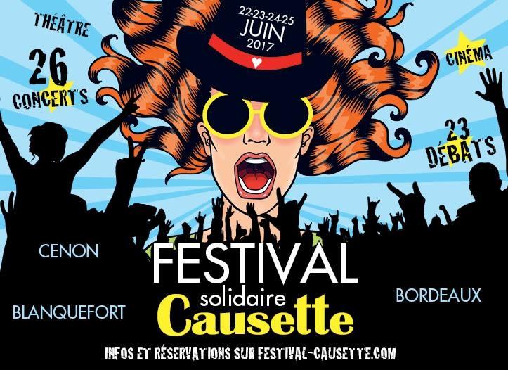 a5e4371aebbddf39a80fe2be248b4e5b - Festival Causette à Bordeaux du 22 au 25 Juin 2017