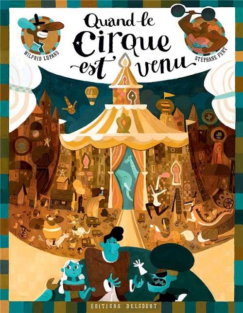 cirque - Notre sélection de BD (et de livres) du mois