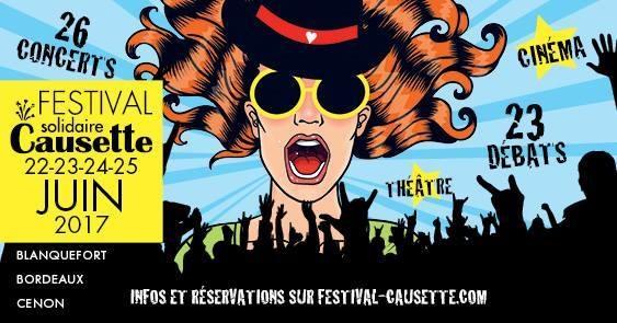 festivalcauseette4 - Festival Causette à Bordeaux du 22 au 25 Juin 2017