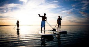 sup Paddle debout