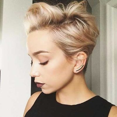 cheveux courts 1 1 e1547742061950 - Magnifiques coiffures stylées pour cheveux courts