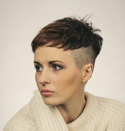 cheveux courts 15 1 e1547742456261 - Magnifiques coiffures stylées pour cheveux courts