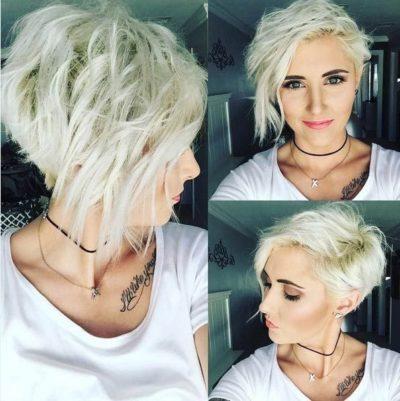cheveux courts 7 1 e1547742260213 - Magnifiques coiffures stylées pour cheveux courts