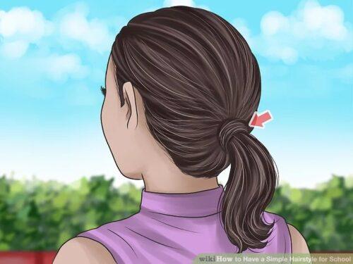 tutoriel coiffure 4 1 500x375 - Salade mechouia - Recettes de la Miditerrannéenne