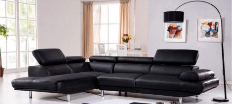 canapé d angle gauche cuir