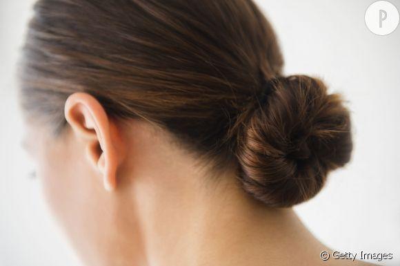 coiffur coupe cheveux chignon danseuse - Comment Faire un Chignon Danseuse ? Tuto Coiffure et Photos