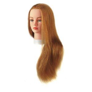 Tête maléable july blond 45-60cm