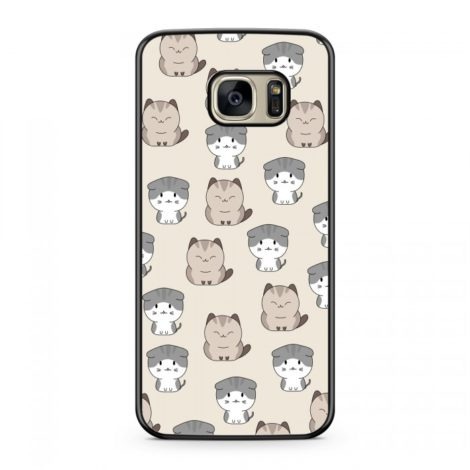 Coque Chat Cute Beige
