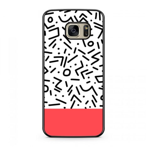 Coque Graphique Contemporary Rouge