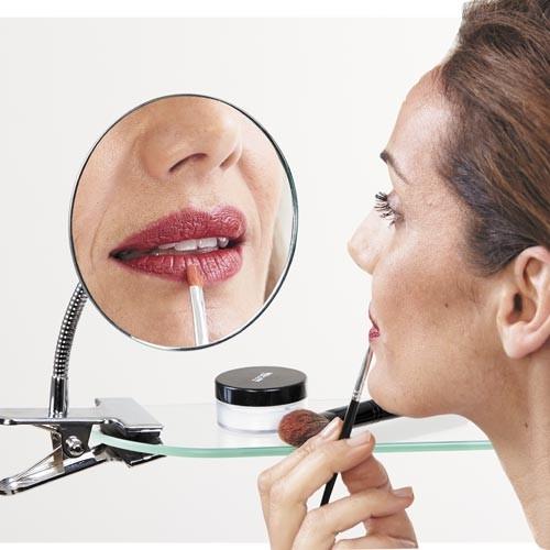 miroir grossisant à clip