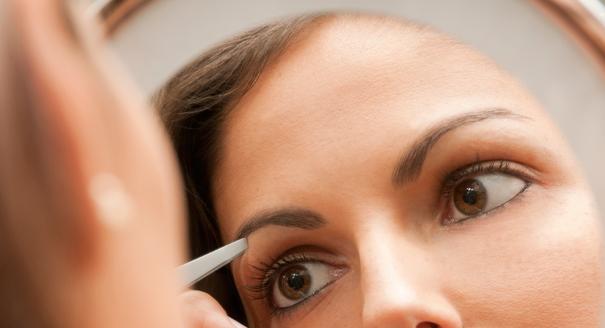 miroir grossissant épilation