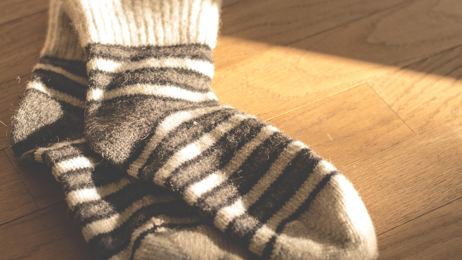 Une bonne paire de chaussettes pour le confort des pieds
