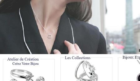 création site de vente de bijoux