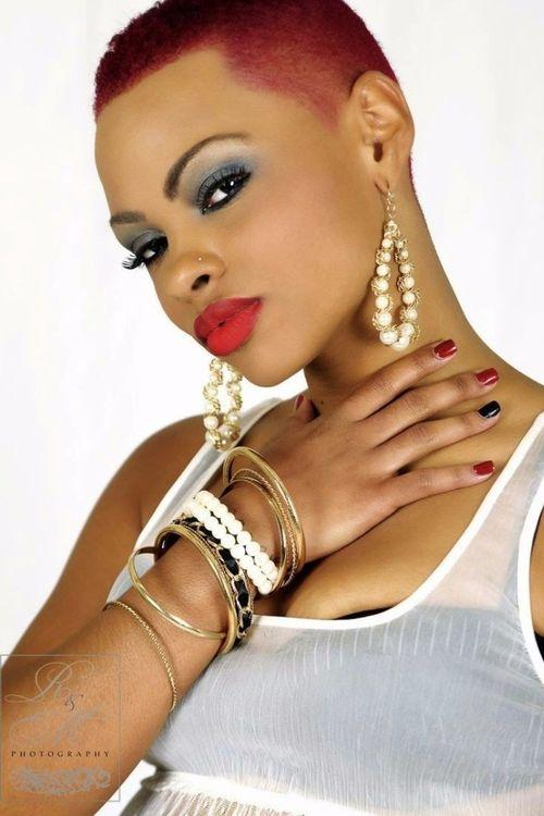 coupe courte femme afro etre belle 10 - Modèles de coiffure coupe courte femme afro