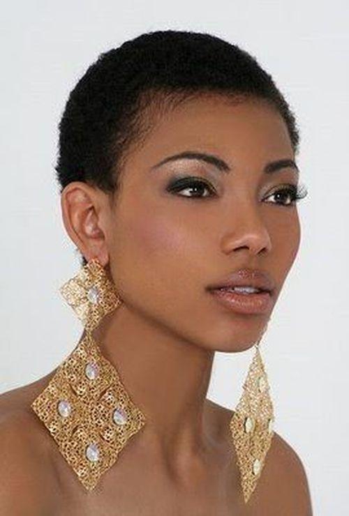 coupe courte femme afro etre belle 18 - Modèles de coiffure coupe courte femme afro