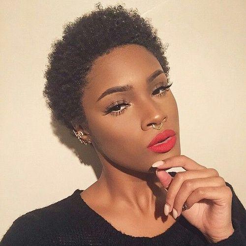 coupe courte femme afro etre belle 2 - Modèles de coiffure coupe courte femme afro