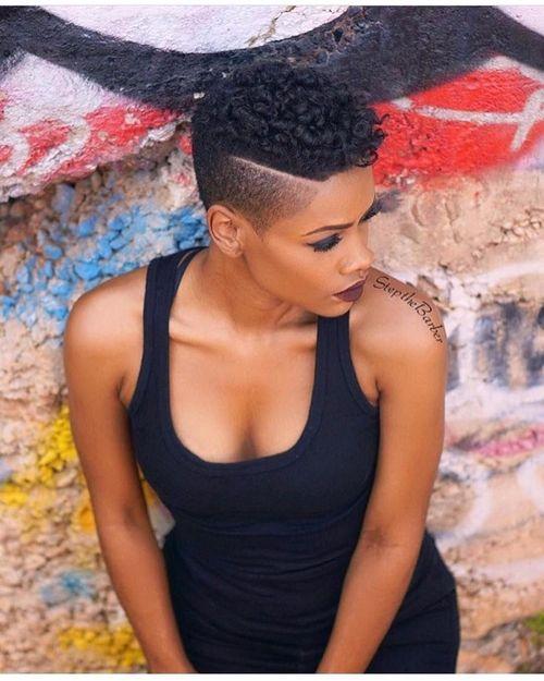coupe courte femme afro etre belle 29 - Modèles de coiffure coupe courte femme afro