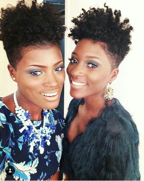 coupe courte femme afro etre belle 30 - Modèles de coiffure coupe courte femme afro