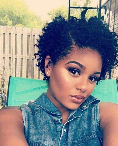 coupe courte femme afro etre belle 37 - Modèles de coiffure coupe courte femme afro