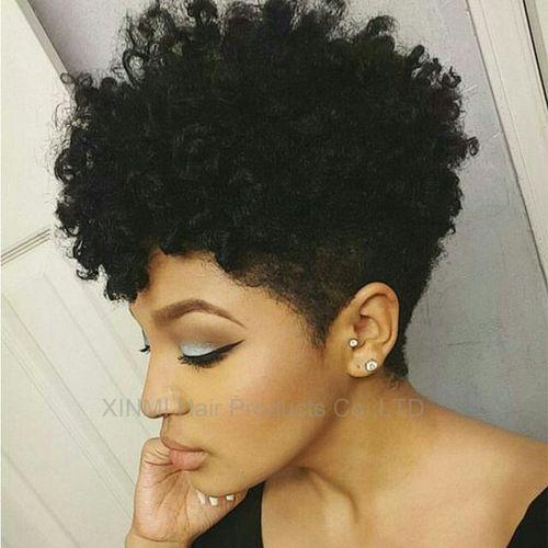 coupe courte femme afro etre belle 39 - Modèles de coiffure coupe courte femme afro