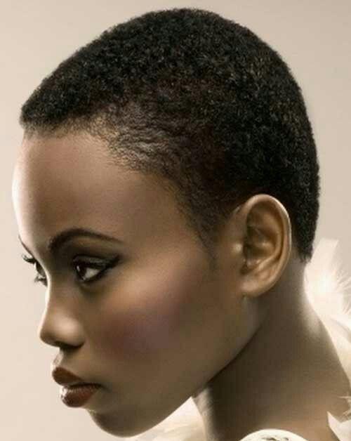 coupe courte femme afro etre belle 49 - Modèles de coiffure coupe courte femme afro