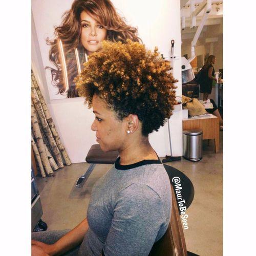 coupe courte femme afro etre belle 50 - Modèles de coiffure coupe courte femme afro