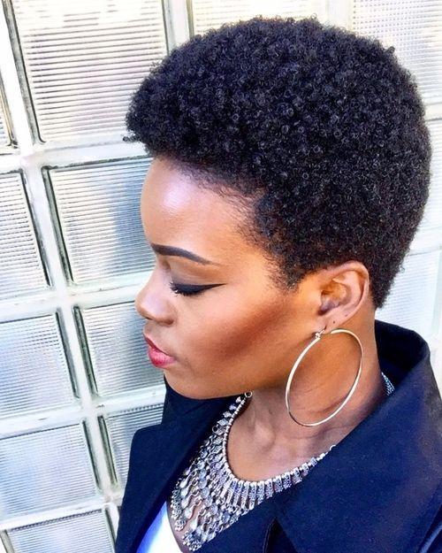 coupe courte femme afro etre belle 53 - Modèles de coiffure coupe courte femme afro