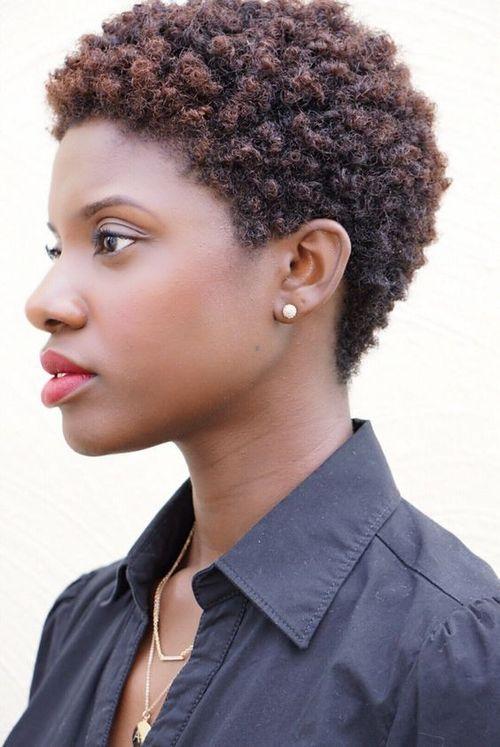 coupe courte femme afro etre belle 56 - Modèles de coiffure coupe courte femme afro