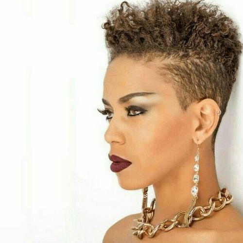 coupe courte femme afro etre belle 8 - Modèles de coiffure coupe courte femme afro