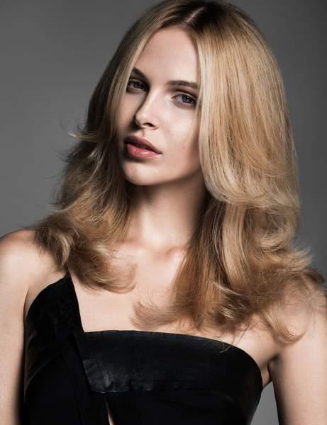 un degrade sur les mi longueurs - Cheveux mi-longs - Modèles de coupes qui donnent envie de couper ses longueurs