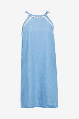 Robe de plage en jean à emmanchures américaines
