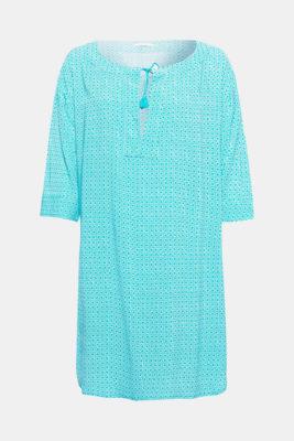 Robe de plage à imprimé, style tunique