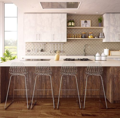 cuisne espace 500x493 - L'art du rangement pour petite cuisine : 10 astuces