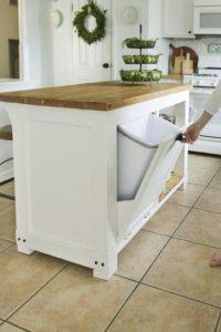 poubelle3 200x300 - L'art du rangement pour petite cuisine : 10 astuces