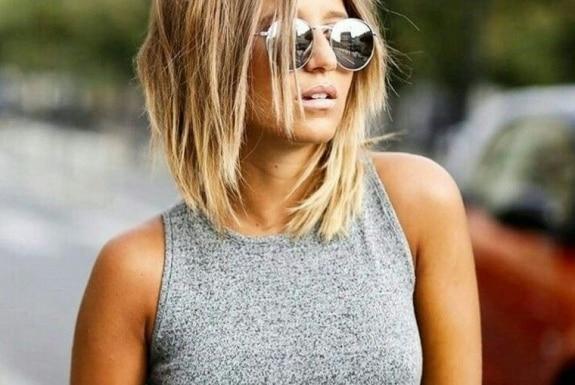 coupes cheveux mi-longs - idées tendances