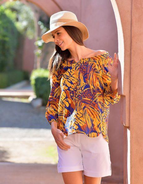 Quels chemisiers et blouses porter cet été?
