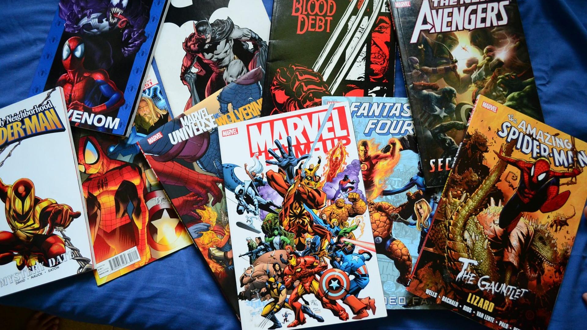 Les produits dérivés, l'empire Marvel pèse lourd