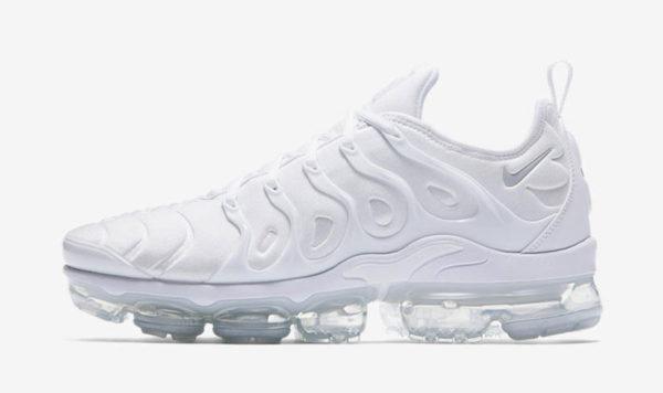nike air vapormax plus blanche e1561615799840 - Les sneakers et baskets tendance pour cet été